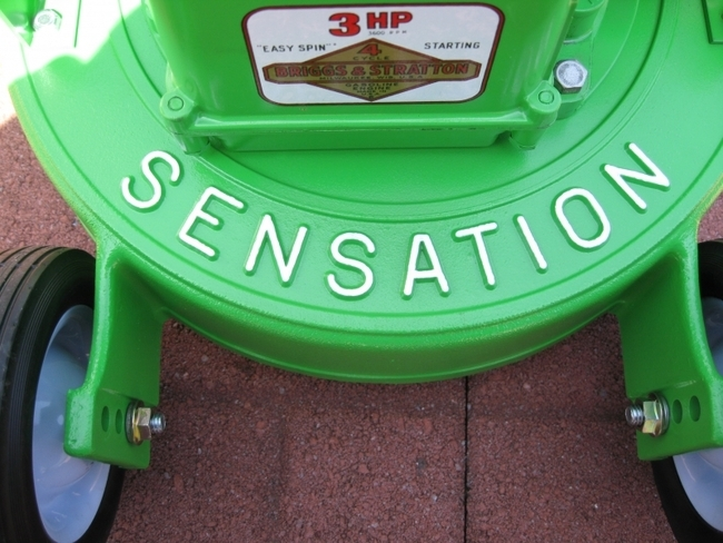 The Green Machine Sensation Mowers Com